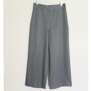 Zara Woman Wide Leg Crop Pants